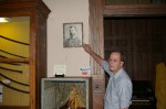 Picture of man believed to be the ghost in the Mansfield Memorial Museum