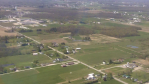 View from sailplane flying over Middlefield